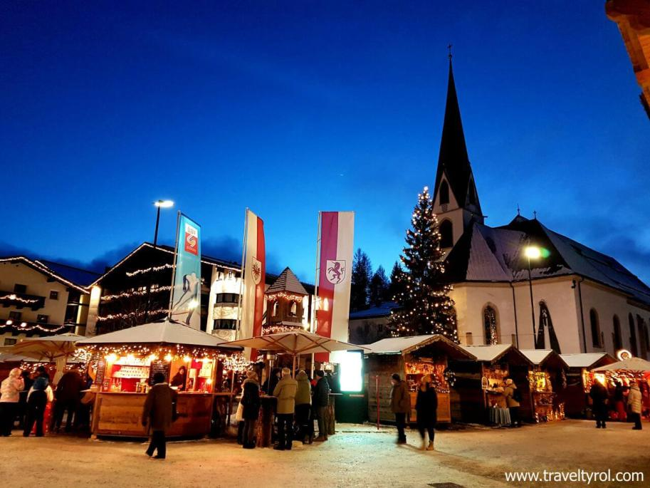 Christmas in Austria is experienced best in small towns such as Seefeld in Tyrol.