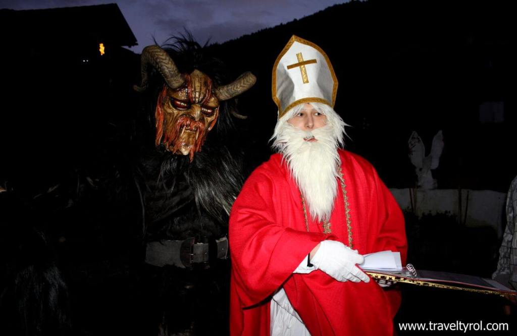 Christmas in Austria isn't complete without Nikolaus and Krampus.