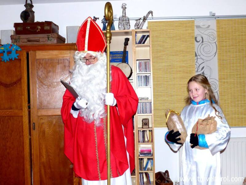 Nikolaus and his angels are an integral part of Christmas in Austria.