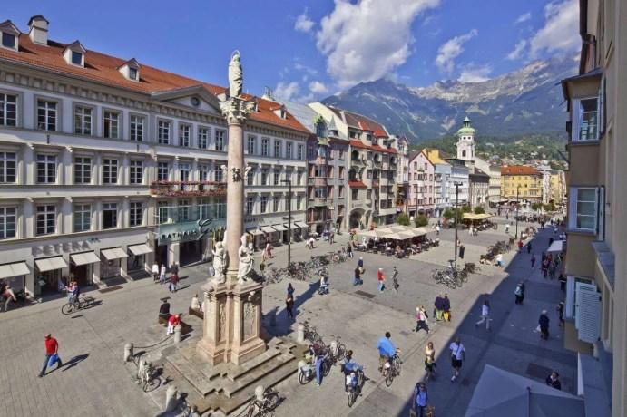 St. Anne's Column Innsbruck © TVB Innsbruck Christof Lackner