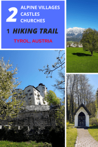 The historica circular trail in Tyrol, Austria