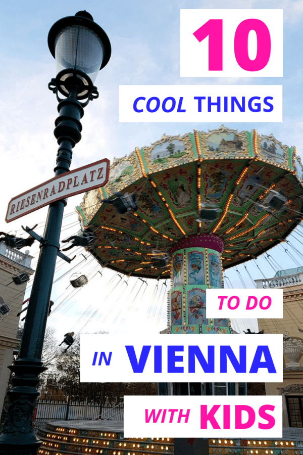 Prater Vienna with kids