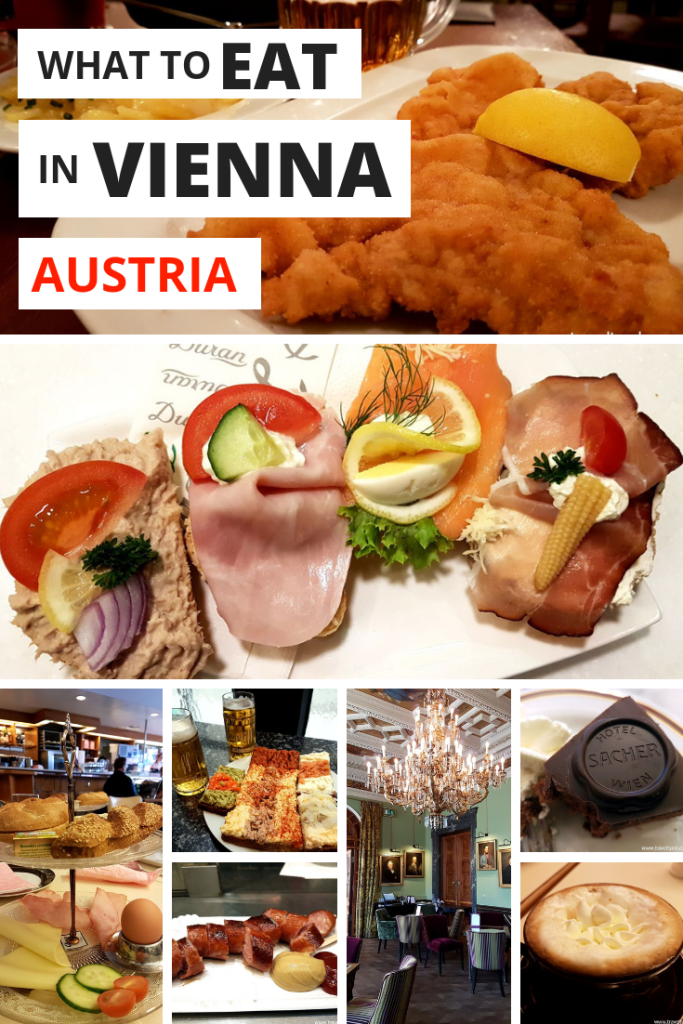 What to eat in Vienna for Pinterest