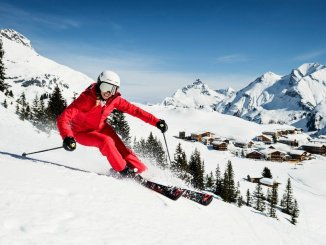 Ski Arlberg is the biggest ski resort in Austria.