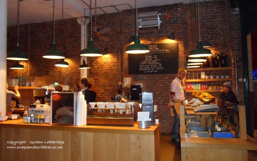 Monmouth Coffee, Borough