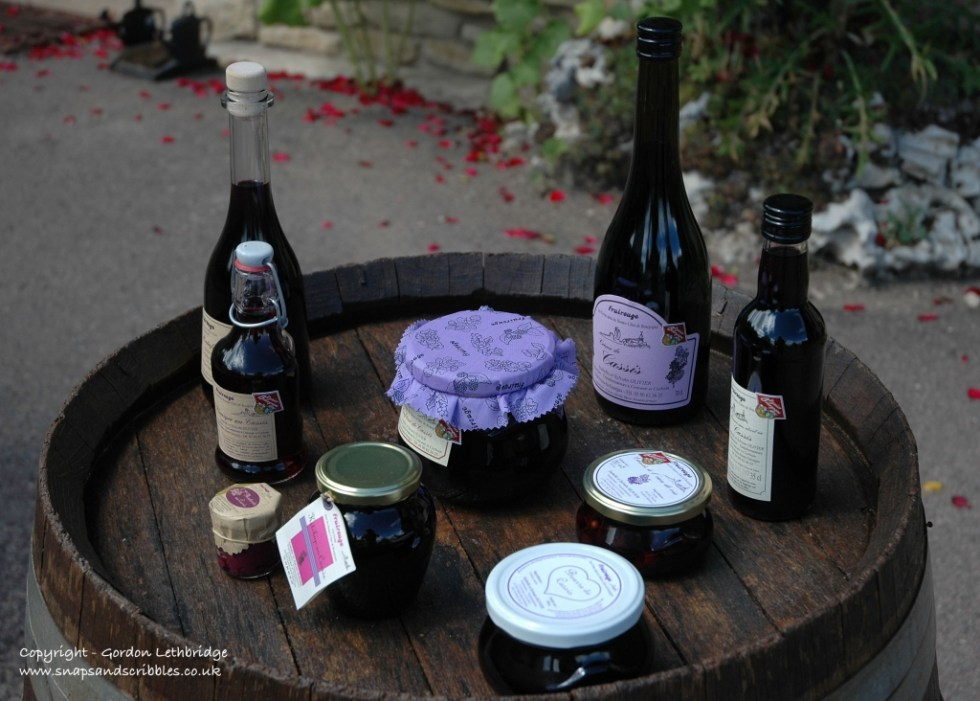 Products from blackcurrants