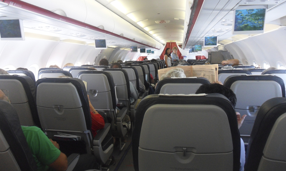 Interior Aegean Airlines