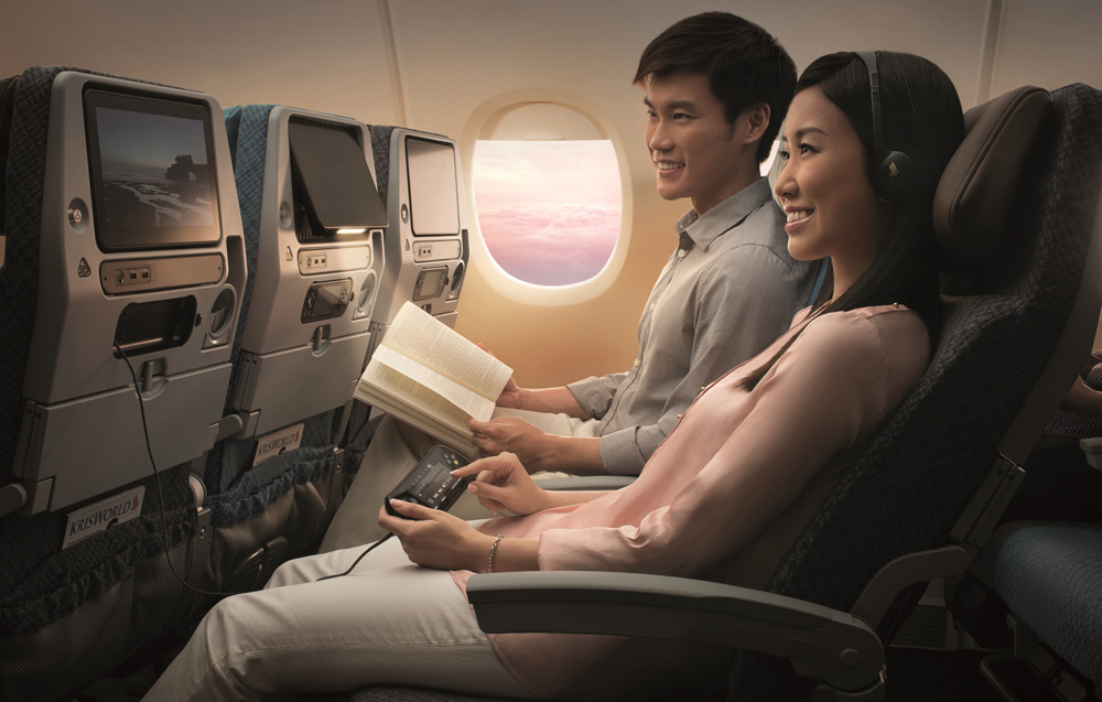 Economy on Singapore Airlines