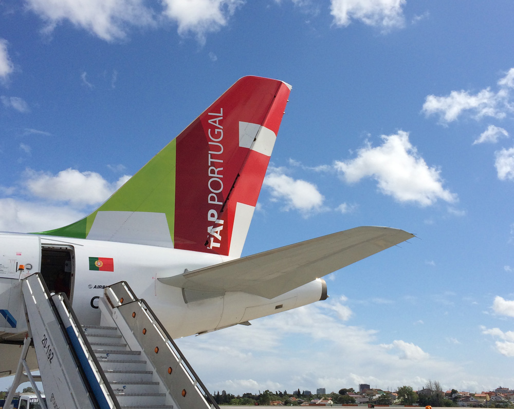 Tail fin of TAP Portugal