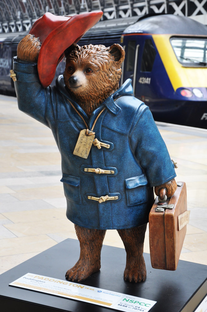 The Paddington Bear of Michael Bond's books and the one I remember as a child
