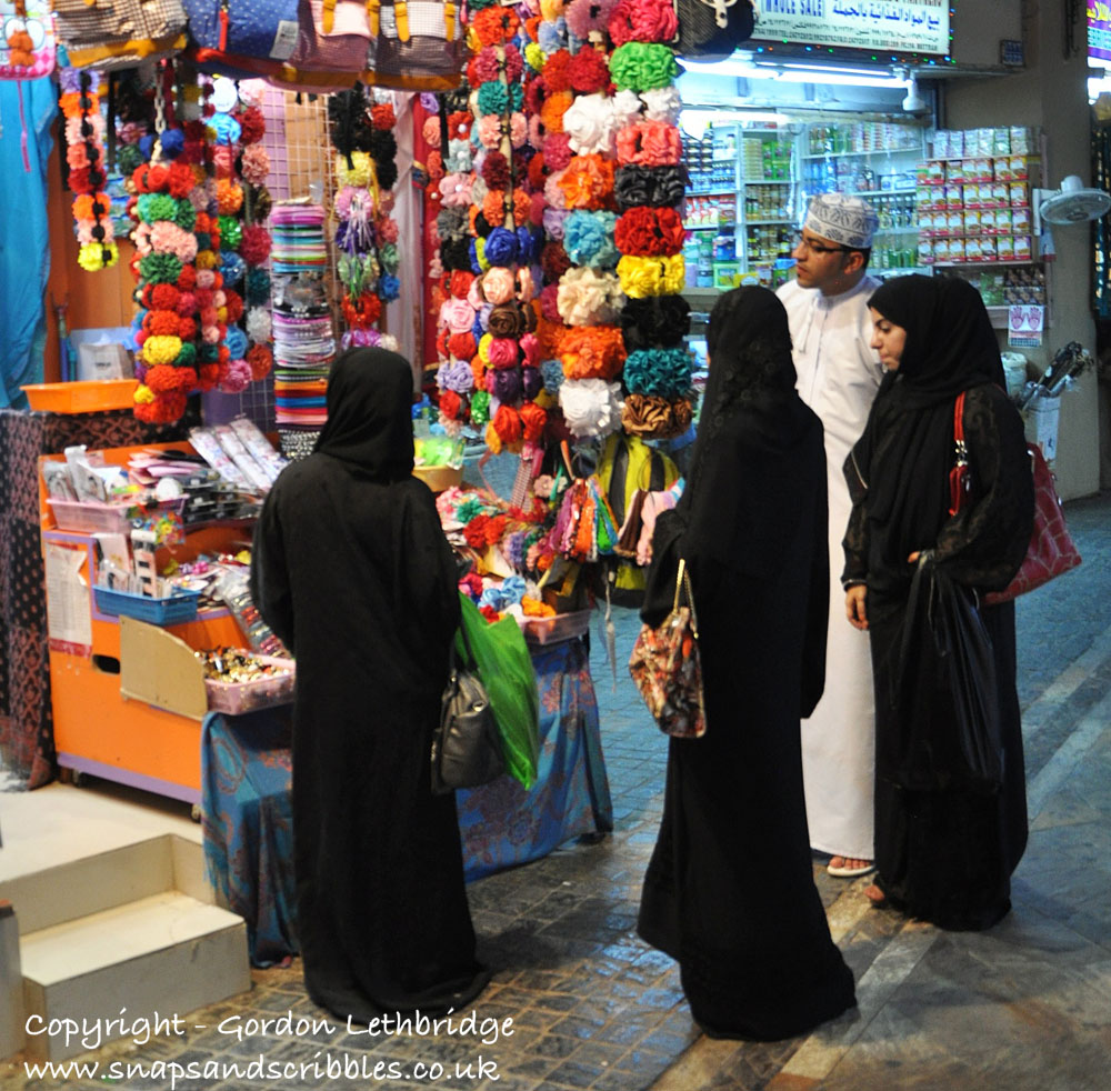 Inside the Mutrah Souq, Muscat