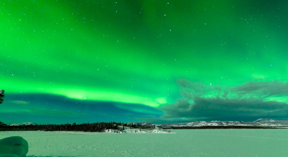 The Yukon is a great place to see the Northern Lights in Canada © www.depositphotos.com/PiLens