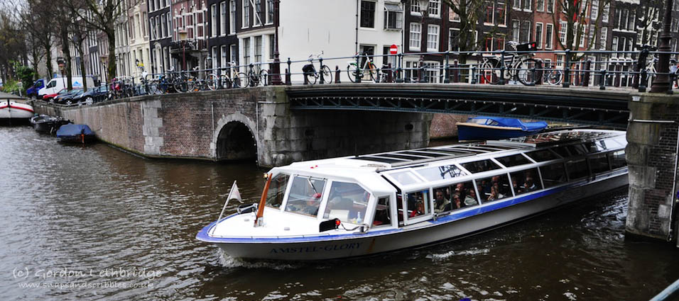 Rail to Amsterdam