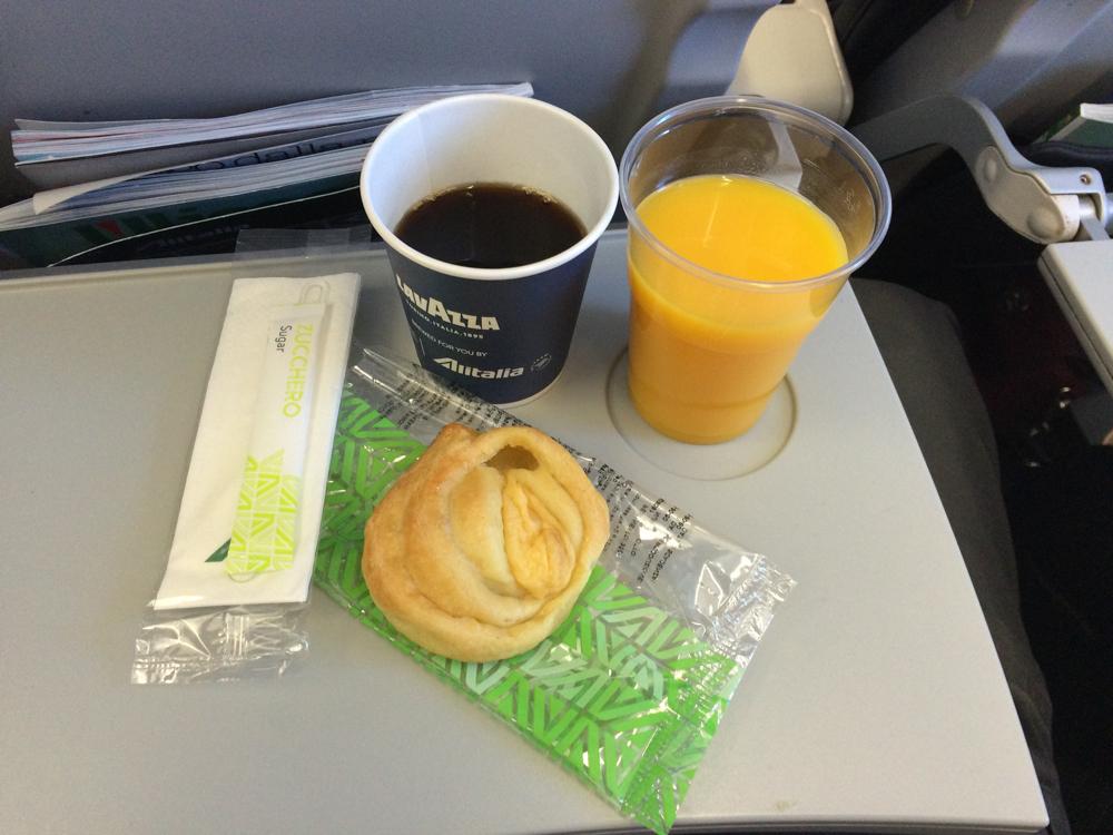 Alitalia Review