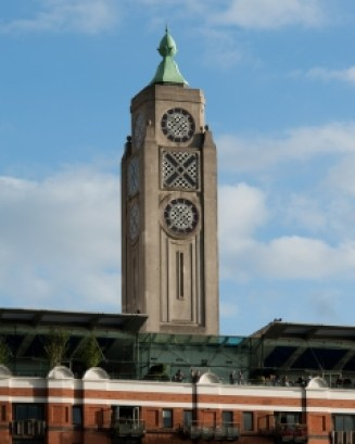 The OXO Tower By HereBeBeasties (Own work) [CC BY-SA 3.0], via Wikimedia Commons
