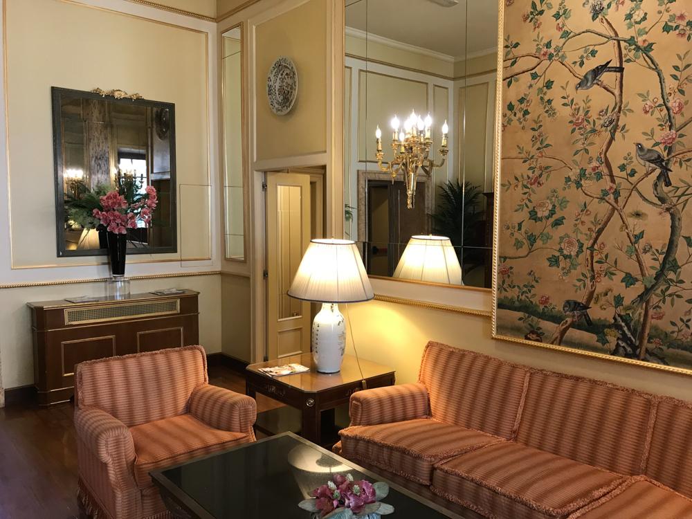 Hotel degli Aranci public lounge