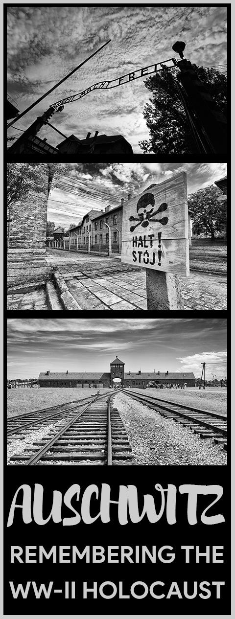 Haunting Photographs of Auschwitz Memorial Camp