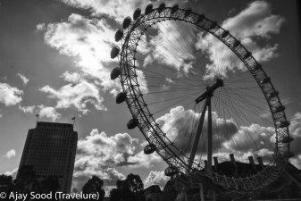 The famous London Eye