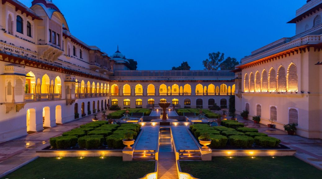 Rambagh Palace by Taj, Jaipur