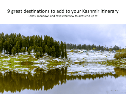 The Unsung Kashmir