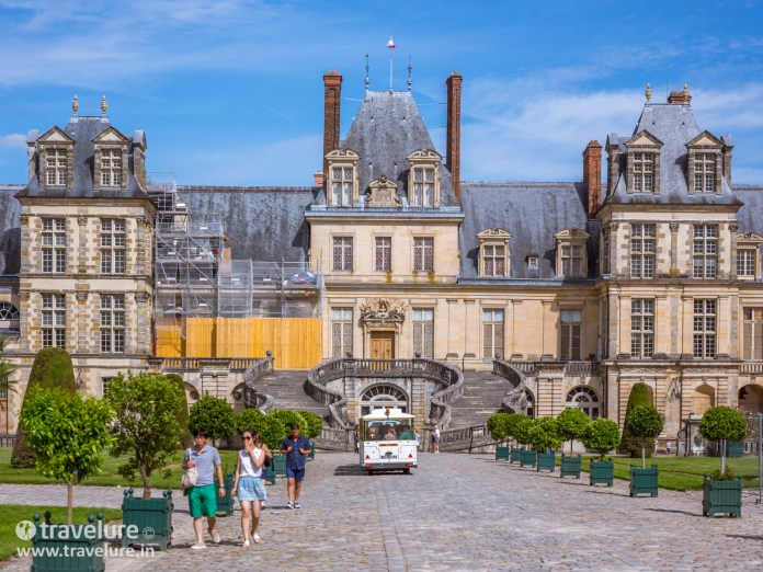 Fontainebleau Chateau from Paris Instagram Roundup
