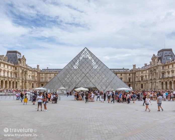 Louvre Pyramid in Paris Instagram Roundup