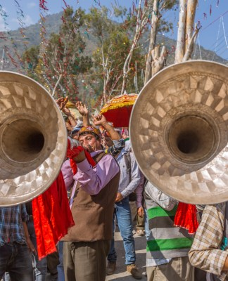 Folk instruments make their presence felt in Kullu Dussehra - Gods' Own Get-Together