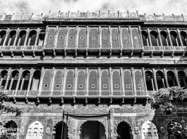 Facade of Narendra Bhawan Bikaner – An Ideal Haveli