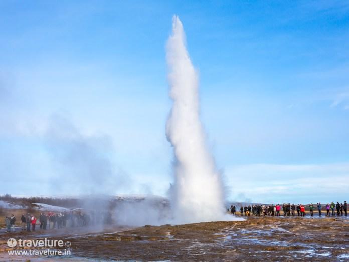 Strokkur Geyser - Instagram Roundup - Iconic Iceland
