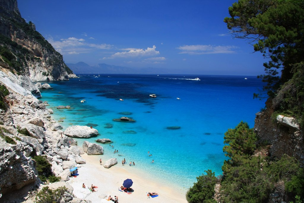 Image result for Cala Gonone, Sardinia