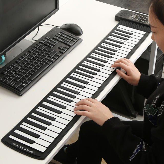 Travel keyboard piano