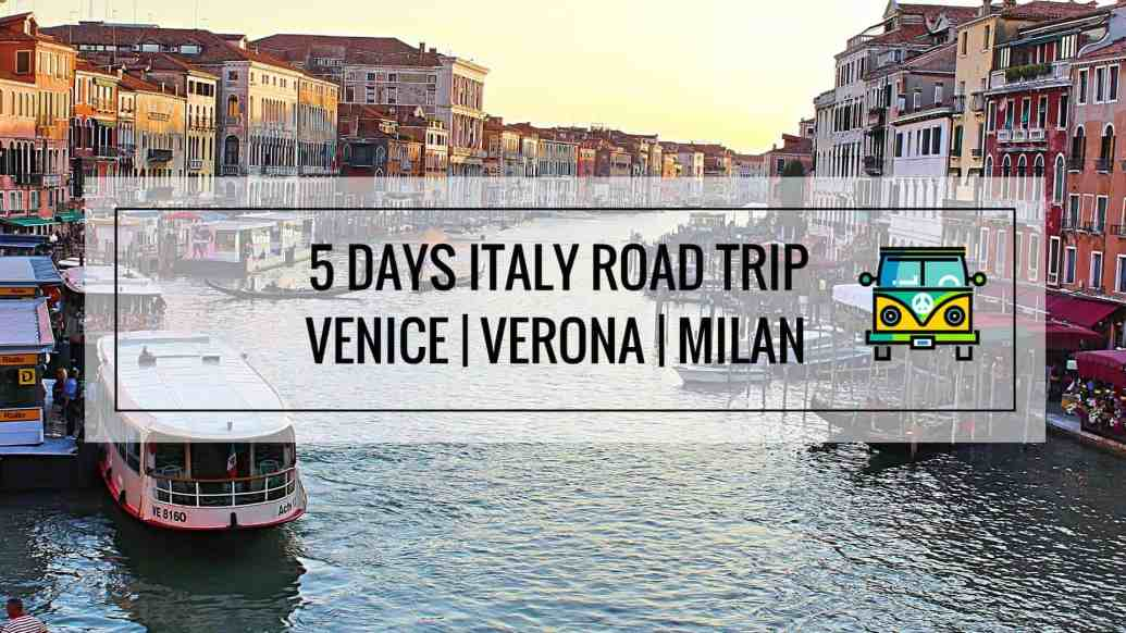 5 Days Italy Road Trip