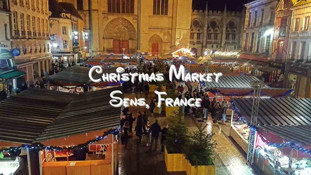 Christmas Market, Sens France