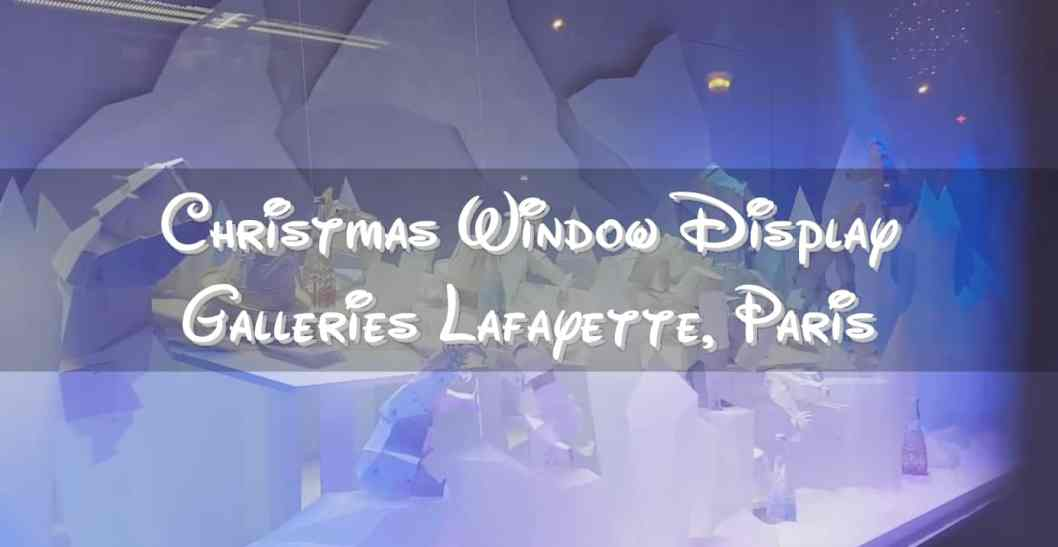 Christmas Window Display Galleries Lafayette
