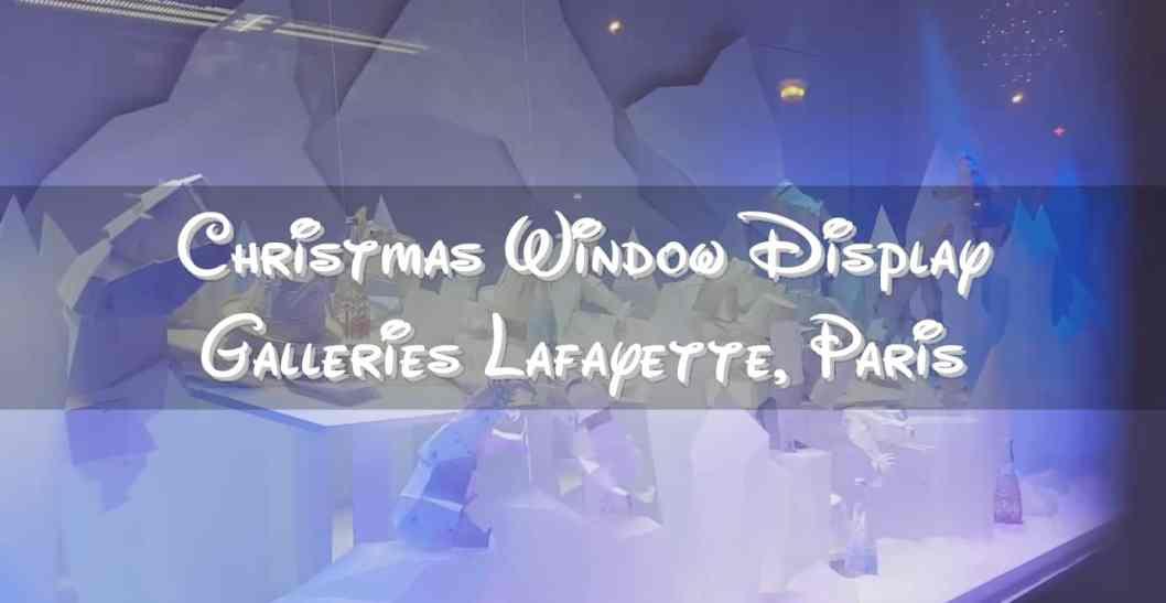 Christmas Window Display Galleries Lafayette