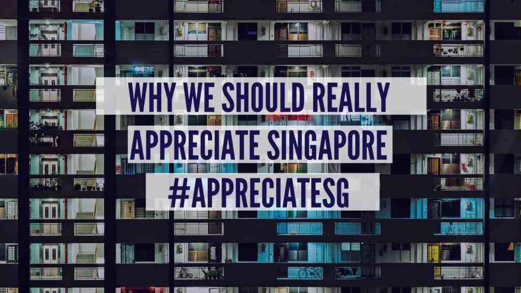 WHY WE SHOULD REALLYAPPRECIATE SINGAPORE#APPRECIATESG
