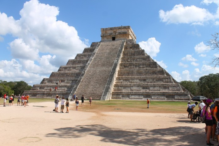 Chichen Itza, Mexico. seven wonders of the world