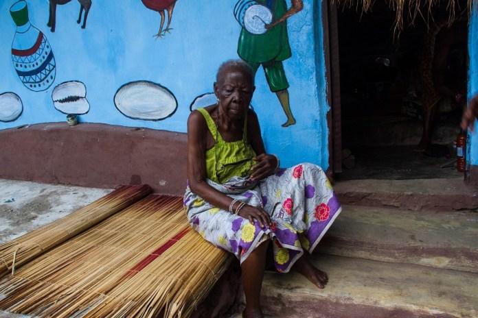 Olumo Rock - 135 year old chief Priestess
