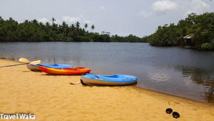 Kayaking at LaCampagne Tropicana