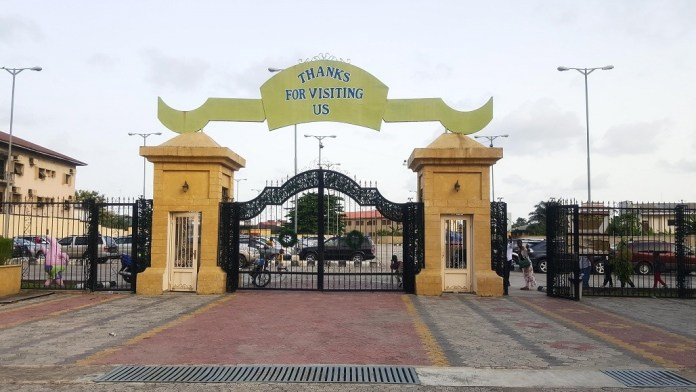 Apapa Amusement Park gate