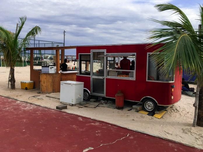 landmark beach food