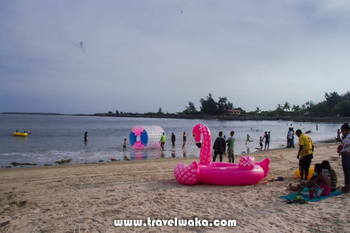 Watersports activities at Tarkwa Bay beach