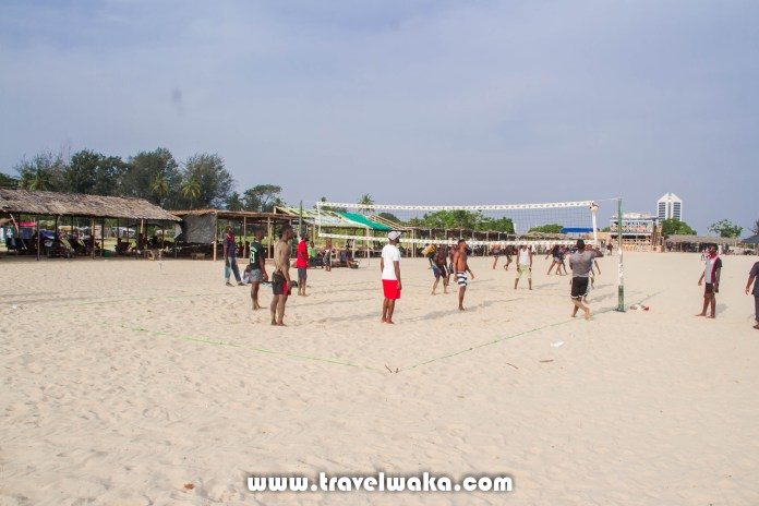 Tarkwa Bay volley ball