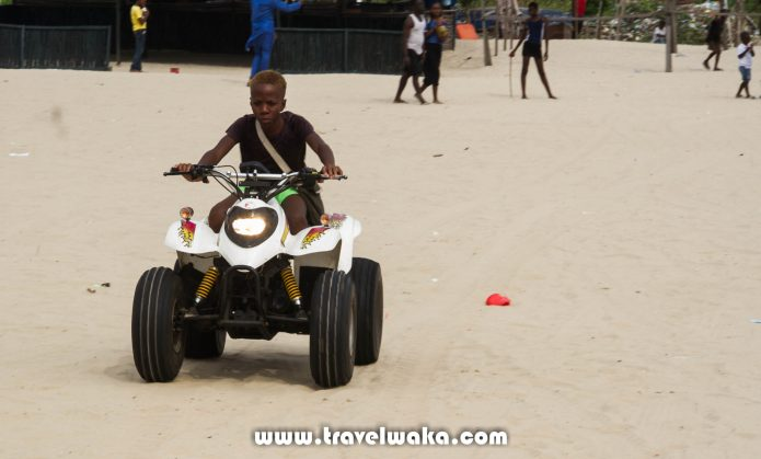 quad bike Tarkwa Bay