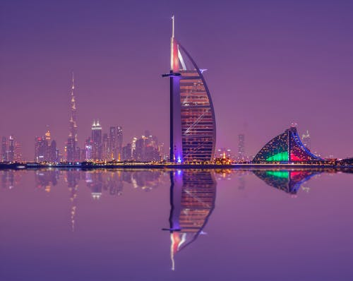 The Burj Al Arab - tourist attraction in Dubai