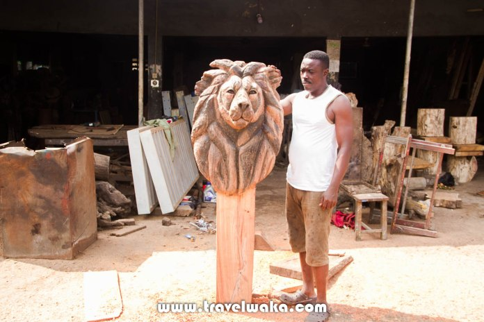 artist at national theatre iganmu