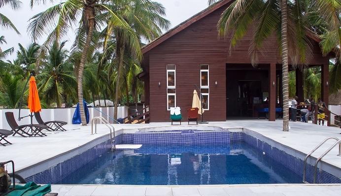 ilashe beach swimming pool