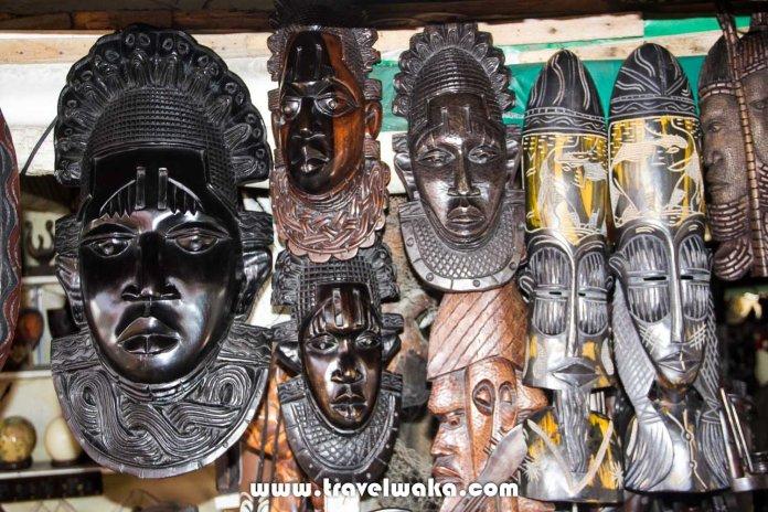 arts and craft at lekki art market