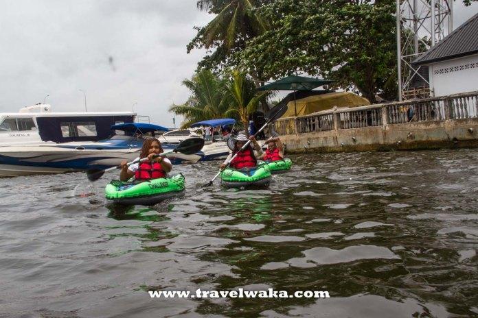 kayaking in Nigeria