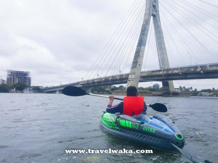 kayaking in lekki lagos